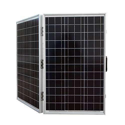 Eco-Worthy 120 W 12 V leistungsstarkes, zusammenklappbares Solarmodul für Zuhause, Auto, Boot