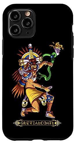 iPhone 11 Pro Quetzalcoatl Snake Aztec God Mythology Ancient Mayan Deity Case