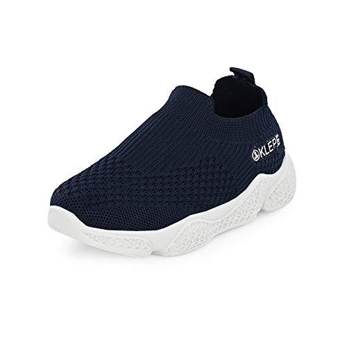 Klepe Boy's Navy Running Shoes-10 UK (29 EU) (11 Kids US) (KD/KPK-01/NVY)