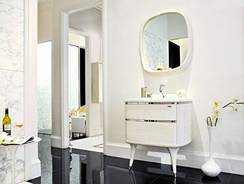 Bador Meuble Design pour lavabo de Luxe marbre Meuble Miroir Salle de Bain Neuf