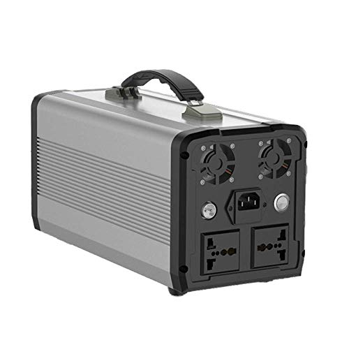 WYZXR Portable Power Generator 426.24Wh 400W Solar Power Station Lithium Battery Power Supply 220V-240V, Wireless Charging LED Flashlights for Camping Travel CPAP Emergency, Quiet and Compact