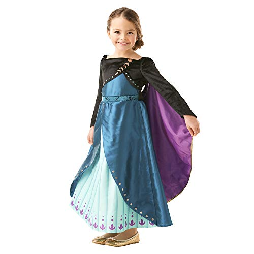 Rubie's- Costume Anna Epilogue Frozen2 Deluxe Inf...