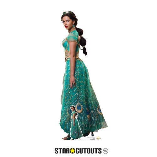 Disney Aladdin Pappaufsteller Princess Jasmine (Naomi Scott) enthält zusätzlich einen Tisch-Pappaufsteller gratis