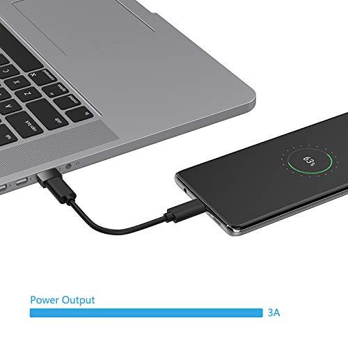nonda USB-C-auf-USB-Adapter (2 Stück), USB-C-Buchse auf USB-Stecker, USB-Typ-C-Buchse auf USB-OTG-Adapter für MacBook Pro 2015, MacBook Air 2017/2015, Laptops, Wandladegeräte, Powerbanks,schwarz