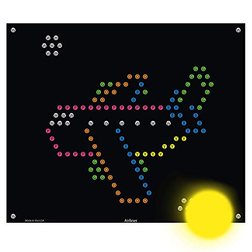IllumiPeg Things That Go Refill templates for Basic Fun Lite Brite Ultimate Classic (10 Sheets, 7x8)