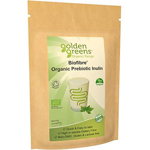 Golden Greens Organic Prebiotic Inulin Fibre, 250g