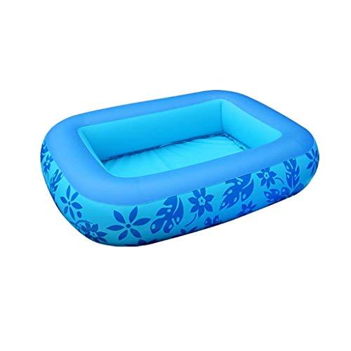 Una sola capa de arena inflable piscina, de los niños Pesca infantil estanque Plaza inflable Piscina for espesado juguete de la playa Piscina (Tamaño: 120 * 90 * 24 cm) WTZ012 ( Size : 120*90*24cm )