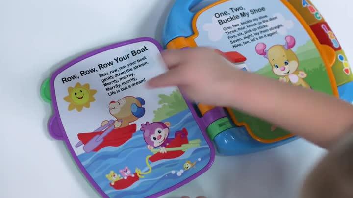 Fisher-Price Lernspa/ß T/öpfchen mit musikalischem Kinderbuch mit realistischen Sounds und Melodien f/ür den Spa/ß Am Training