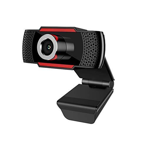 HXCH Webcam-1080P HD 2 millones de píxeles USB Cámaras de computadora [Plug and Play] [30 fps] para PC de escritorio y portátil, videollamadas, conferencias, juegos