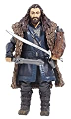 "Each figure contains up to 10 points of articulation and replicates the facial features, clothing, weapons and accessories of the character Featuring authentic detail from the movie - The Hobbit: An Unexpected Journey Measures 6"" tall Includes Thorin..."