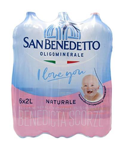 Confezione Acqua San Benedetto 2 lt plastica x 6 pz