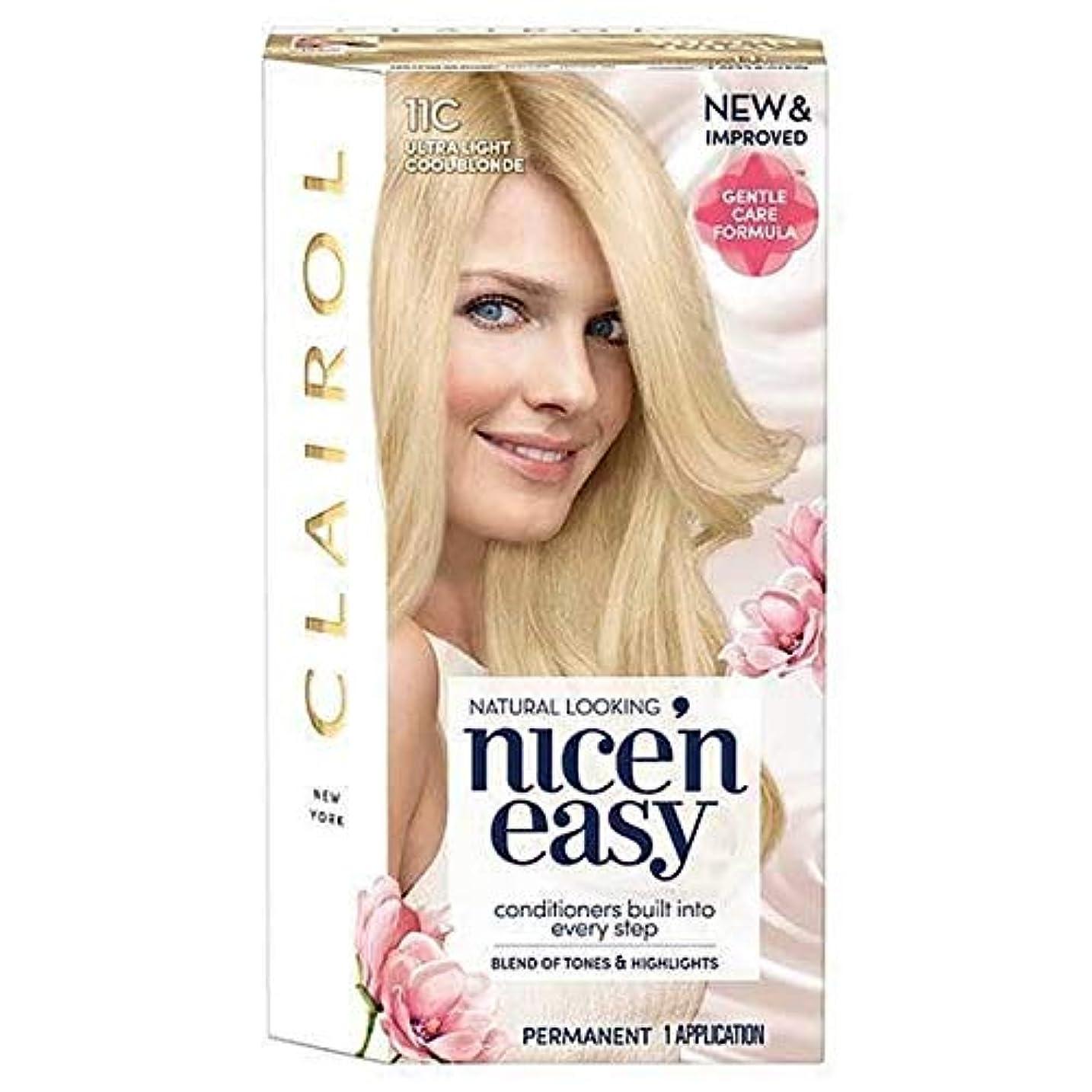 モニター宣教師トランク[Nice'n Easy] Nice'N簡単11Cは超軽量涼しいブロンド - Nice'n Easy 11C Ultra Light Cool Blonde [並行輸入品]