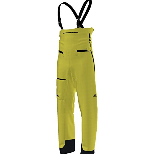 adidas Damen Terrex Skychaser Gore-Tex Latzhose, Unity Lime, XL