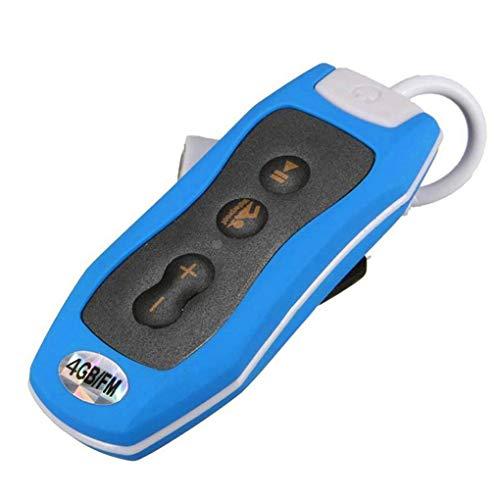 Mini IPX8 MP3 étanche Lecteur de musique FM Radio 4G / 8G clip Design Sport Courir Natation...