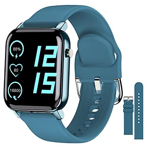 """EPILUM Smartwatch, 1,4"""" Reloj Inteligente Mujer Hombre con Pulsómetro,Cronómetros,Calorías,Monitor de Sueño,Podómetro Monitores de Actividad, Relojes Inteligentes IP68 Impermeable FIT-O…"""