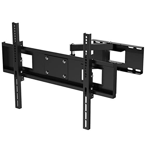 MONIFOX Soporte de Pared para TV/Monitor de un Brazo Extensible a 44 cm orientable inclinable 12° para Philips 65'...