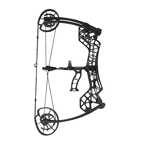 SHARROW Catapult Dual-use Steel Ball Compound Bow 30-60lbs Adjustable Compound Bow 25'-30' Draw Length for Outdoor Archery Hunting