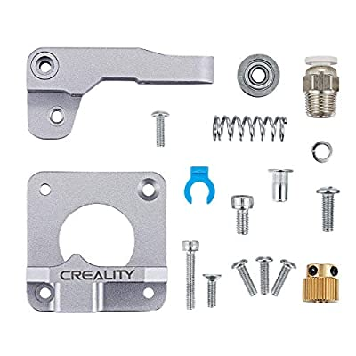 Upgraded Creality Ender 3 All Metal MK-8 Extruder Feeder Drive1.75mm Filament for Ender 3 Pro, Ender 5/5 Plus/Pro, CR-10 Series, CR-10S, CR 20/20 Pro 3D Printer, Aluminum Alloy Block Bowden Extruder