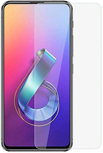 Asus Zenfone 6 ZS630KL Tempered Glass with Alcahol Wet Cloth Dry Cloth, Free Bubble,Anti Explosion,Pro+ 2.5D Pro Tempered Glass for Asus Zenfone 6 ZS630KL