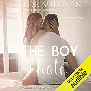 The Boy I Hate audiobook cover art