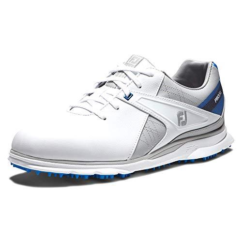 Footjoy Herren Pro Sl Golfschuh, Blanco/Gris/Azul, 44.5 EU