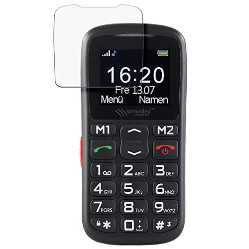 disGuard Schutzfolie für Simvalley Mobile XL-915 V3 [2 Stück] Entspiegelnde Bildschirmschutzfolie, MATT, Glasfolie, Panzerglas-Folie, Bildschirmschutz, Hoher Festigkeitgrad, Glasschutz, Anti-Reflex