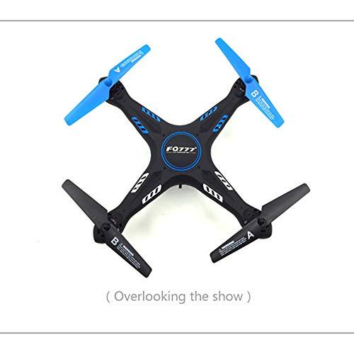 LILY Drone WiFi Fotografía Aérea De Aviones Aviones De Control Remoto Modelo De Antena Eléctrica 2.4G Juguete Quadcopter con La Función De La Altura 30W Fijo,Azul