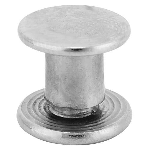 Remache de cabeza plana, remache de tornillo de álbum, paquete de bricolaje de 30 remaches de tornillo, tornillo de remache artesanal,(M5*5-8(M5*5(30pcs)))