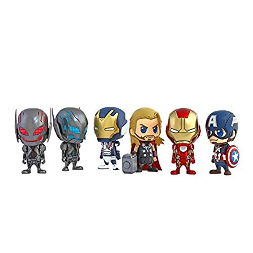 Hot Toys Avengers 2 Cosbaby Set Complet