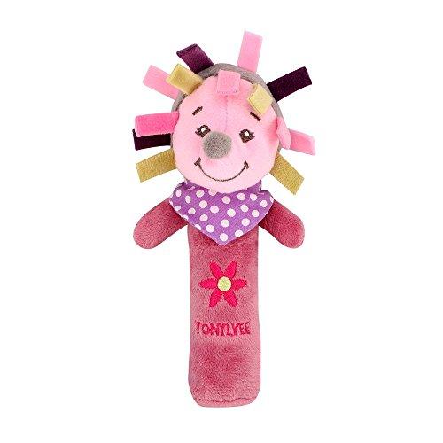 Puzzle Dekompression Spielzeug,ALIKEEY Tiere Hand Glocken Musical Baby Stofftiere Entwicklungs Rassel Bett Kinder
