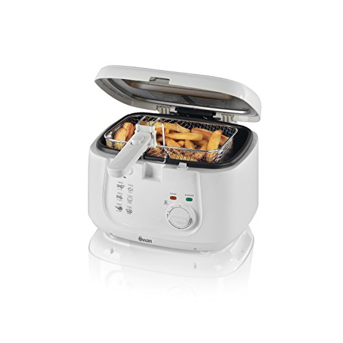 Swan 2.5 Litre Deep Fat Fryer with Viewing Window, Easy Clean, Adjustable...