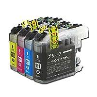 LC111-4PK ブラザー互換インクカートリッジ brother LC111シリーズ 4色セット インクファクトリー