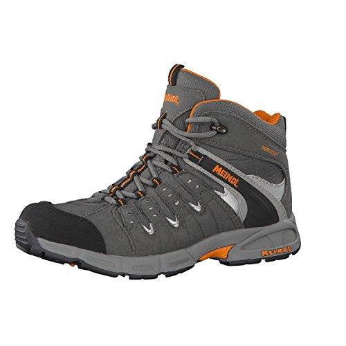 Meindl Kinder Schuhe Snap Junior Mid GTX 2073 35 Anthrazit/Orange