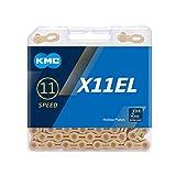 ケイエムシー(KMC) X11EL 11SPEED 用チェーン TI-GOLD 118L KMC-X11EL-TI-N