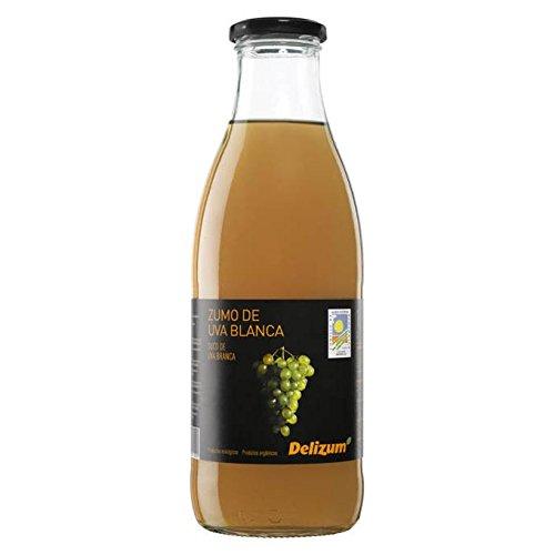 Vaso Bio de 1 litro de jugo de uva blanca Delizum