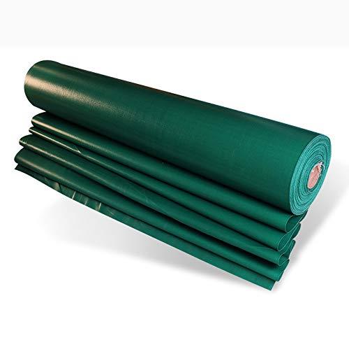 Dekzeil Zware Dekzeil Hoge Dichtheid PVC Plastic Gecoat Doek 550g/m2 Groen 100% Waterdicht en UV Beschermde Waarde voor Geld 3mx4m Donker Groen