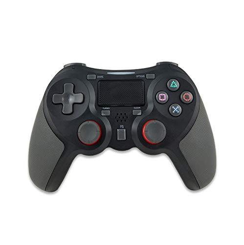 Rzj-njw Control para Juegos de PS4 PS4 Wireless Gamepad vibración Dual para Playstation 4 Joystick Bluetooth Joypad,Negro