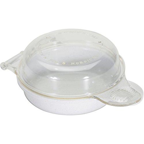 Nordic Ware Microwave Eggs 'n Muffin Breakfast Pan (Colors May Vary) (2 PACK) …