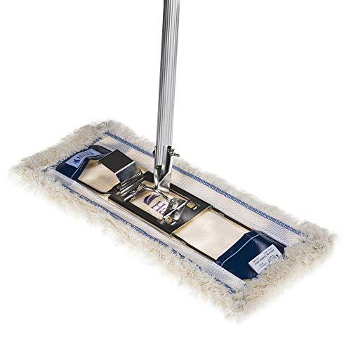 Original Ha-Ra Bodenexpress mit Nassfaser weiß lang 42 cm, Bodenwischer