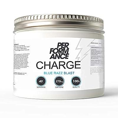 Bodybuilding Warehouse Performance Charge Supplement, Blue Razz Blast