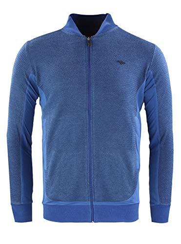 Gabbiano modern fit vest kobalt blauw