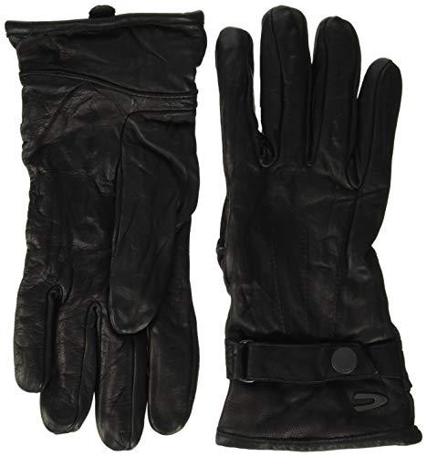 camel active Herren 408260/2G26 Handschuhe, Schwarz (Black 09), Large (Herstellergröße: L)