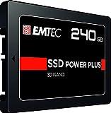 Emtec X150 Power Plus Unidad de Estado sólido 2.5' 240 GB Serial ATA III - Disco Duro sólido (240 GB, 2.5', 520 MB/s, 6 Gbit/s)