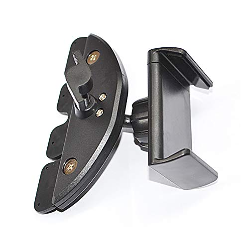 ZXC GPS Sat sostenedor del soporte de salida de aire del coche Soporte horquilla del montaje for el coche CD de soporte de coche universal GPS Ranura soporte for teléfono móvil La instalación es simpl