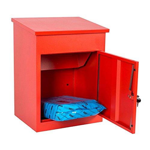Paketbriefkasten Smart Parcel Box, rot - 6