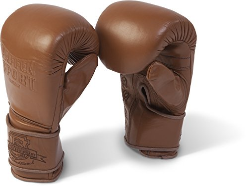 Paffen Sport The Traditional Boxsack-Handschuhe; braun; GR: M/L