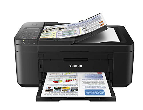 Canon PIXMA TR4527 Wireless Color Photo Printer with Scanner, Copier & Fax, Black