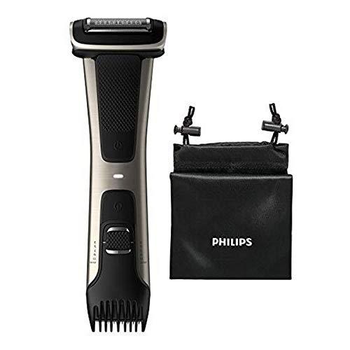 Philips Serie 7000 BG7020/15 - Afeitadora corporal con cabezal de recorte y de...