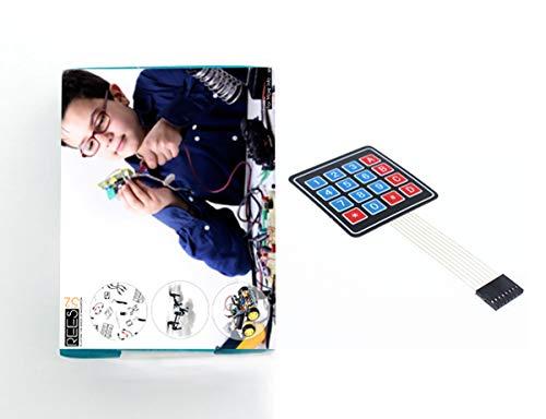 4x4 Universial 16 Schlüsselschalter Tastatur Tastatur für Arduino