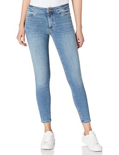 Armani Exchange Skinny Fit Jeans, Indigo Azul Vaquero, W26 para Mujer